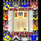 Armorial Name History - Coat of Arms - Family Crest 11x17 GASKIN-TO-GUTHRIE