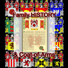 Armorial Name History - Coat of Arms - Family Crest 11x17 CARRILLO-TO-COLLINS