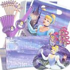 DISNEY'S PRINCESS CINDERELLA BIRTHDAY PARTY SUPPLIES FAVOR PACK 48 PC FREE SHIP