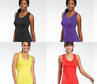 XERSION Sleeveless Workout Racerback Tank Singlet NWT Choice S M Shirt Yellow