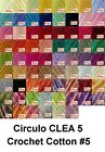Circulo CLEA5 150g 750m Crochet Cotton Knitting Thread Yarn #5 Chart 3 of 3