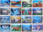 HD art Kids&Teens at Home Bedroom Playroom Wall Decor 3D painting PVC 25x35cm