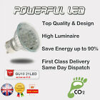 6 X GU10 25° 21 LED Spot Light Lamp Bulb 220-240V 1W