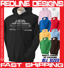 MK1 CORTINA CLASSIC FORD RETRO CAR HOODIE DTG ALL SIZE & COLOURS AVAILABLE R20