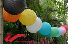 "12""/30CM Round Paper Lanterns Lamps Wedding/Party/Home Decor(Pack Of 5)"