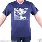 INSPIRED BY FLIGHT OF THE CONCHORDS T SHIRT - NEW ZEALAND TRAVEL POSTER