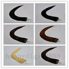 100S 22inch remy micro ring/loop 100% human hair extensions 50g, 5 colors