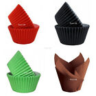 Cupcake Muffin Cases - Red Black Green Tulip - High Quality Baking cases