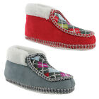 New Ladies Knitted Soft Foot-bed Lightweight Mule Slippers Size UK 3 4 5 6 7 8