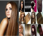 "New Fashion 20"" Clip-in 100% Human Hair Extension 8pc 100g silk straight hair"