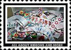 BAG OF RIBBON SCRAPS 15 PIECES OF 12 TO 30 INCHES EACH