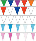 TRIANGLE FLAG BUNTING 900CM, 5 DESIGNS