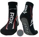 RDX MMA Grip Training Fight Socks Boxing Foot Braces Ankle Shoes Guard Pad Black