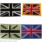 5 DESIGNS OF EMBROIDERY CLOTH UNION JACK BRITISH FLAG IRON SEW ON JEANS CLOTHES