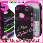 HYBRID SILICONE GEL RUBBER HARD CASE COVER FOR BLACKBERRY CURVE 9320 9220
