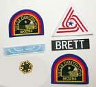 ALIEN / ALIENS Nostromo Engineer Patch Set (BRETT) - Set of 6 Jacket Patches NEW