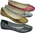 WOMENS BALLET LADIES FLAT SHOES GIRLS FANCY CASUAL BALLERINA DOLLY DANCE SHOES