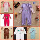 "New""Jumping Beans""Baby Boy Girl longsleeved Cotton Romper Jumpsuit0000,000,00.0"