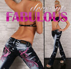 NEW SEXY SZ 6 8 10 12 14 WOMEN'S HOT DESIGNER HIPSTER BLUE JEANS DENIM S M L XL