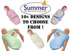 Summer Infant Swaddle Me Large All Colours Baby Swaddling Wrap
