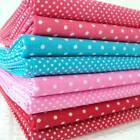 DOODLE DOTS - SMALL TINY SPOTS POLKA  POLY COTTON FABRIC crafts BUNTING KIDS