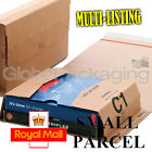 CARDBOARD POSTAL MAILER WRAPS BOXES - ROYAL MAIL SMALL PARCELS - ALL SIZES