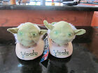 Star Wars Plush Fuzzy Yoda Character Slippers Toddler Youth Boys Sizes NEW CUTE