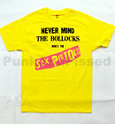 Sex Pistols - Never Mind The Bullocks - yellow t-shirt - Official - FAST SHIP