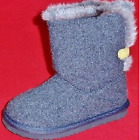 NEW Girls Toddlers CARTER'S FAYETTE Gray Fashion Casual Slip On Dress Boots