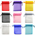 12x20cm Premium ORGANZA Wedding Favour GIFT BAGS Jewellery Pouches