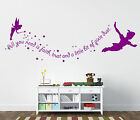 Peter Pan wall stickers - Tinkerbell wall stickers
