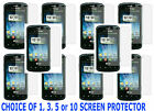 1,3,5 OR 10 Screen Protector For Straight Talk LG Optimus Q l55c Slider Phone