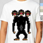 SECRET OF MONKEY ISLAND, THREE HEADED MONKEY  T-Shirt, Multiple Colours & Sizes