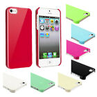 Ice Cream Ultra Thin Back Case For iPhone 5 5S Mint Green Black Pink White Blue