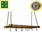 Traditional 6 Lath Pot Pan Airer Maid Rack Holder