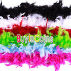 2M Long Fluffy Feather Boa Dress Wedding Costume Makeup Party Decor Decorative