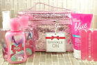 Bath & Body Works -SPARKLE TRAIN CASE Mist Lotion Gel, Look Ma, New Hands Set