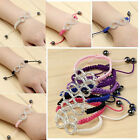 Infinity Crystal Eternity Eternal Love Friendship Wish Lucky Bracelet Gift HOT
