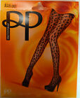 Pretty Polly Pantyhose Black Squiggly One Size Sexy Dress to Impress