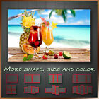SUMMER FRUITS COCKTAIL Canvas Framed Print Restaurant Deco