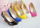 NEW Design Women's Wedge Candy Color High Heels Pumps Shoes AU All Size Z062