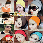 Fashion Women's Colored Wide Stretch Yoga Headband Hairband Hair Bands Turban