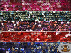 """Sequin Micro Dye Paillete Fabrics / 54"""" Wide / Sold by the yard"""