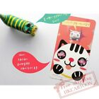 Korea Originality Retro Bookzzicard Mini Smile Cat Metal Bookmark