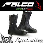 ITALIAN FALCO KODO MOTORCYCLE MOTORBIKE BIKE TOURING COMMUTING BOOTS WITH D30