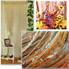 COLORFUL DOOR WINDOW SEQUIN SPANGLE FRINGE PANEL ROOM DIVIDER STRING CURTAIN
