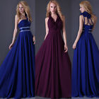 Unique New Hot Prom Gown Wedding Bridesmaid Formal Evening Party Long Maxi Dress