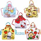 SANIRO 2016 HELLO KITTY MELODY TWIN STARS POM PURIN POCHACCO CLOTH ADULTS APRON