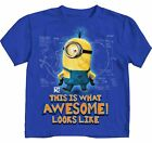 Despicable Me Awesome Royal Blue Juvy T-Shirt