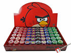 ( 60 ) Angry Birds Self Ink Stamps Party Favors Reward Loot Craft Supplies  New